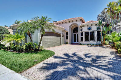 Delray Beach Single Family Home For Sale: 16314 Via Venetia W