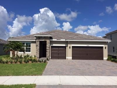 Palm City Single Family Home For Sale: 2551 SW Berry Park Circle