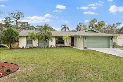 Royal Palm Beach Single Family Home For Sale: 107 Morgate Circle