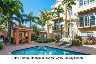 Delray Beach Townhouse For Sale: 632 Renaissance Way
