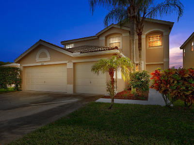 Boynton Beach Single Family Home Contingent: 3506 Hudson Lane