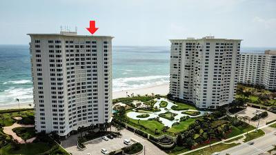 Condo For Sale: 500 S Ocean Boulevard #906