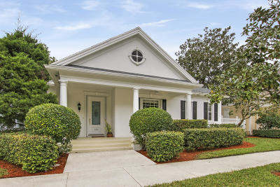 Jupiter Single Family Home Contingent: 322 Marlberry Circle