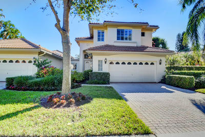Delray Beach Single Family Home Contingent: 6298 San Michel Way