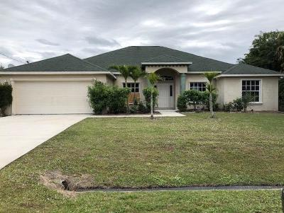 Port Saint Lucie Single Family Home For Auction: 3343 SW Foremost Drive