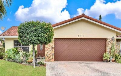 Coral Springs Single Family Home For Sale: 2735 NW 92nd Avenue