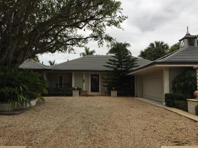 Palm Beach Single Family Home For Sale: 240 W Indies Drive