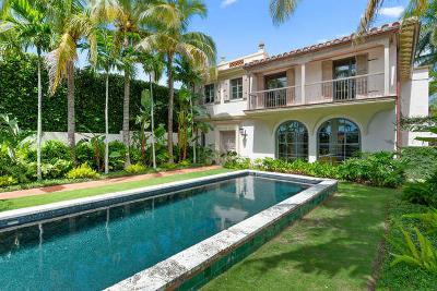 Palm Beach Single Family Home For Sale: 9 Golfview Road