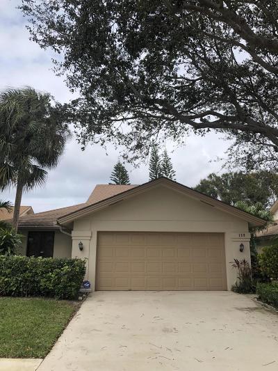 Jupiter Single Family Home Contingent: 139 Seashore Drive