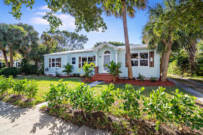West Palm Beach Single Family Home For Sale: 310 30th Street