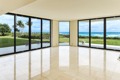 Palm Beach Condo For Sale: 3100 S Ocean Boulevard #104 N