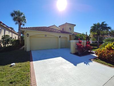 Jupiter Single Family Home For Sale: 3519 Lantern Bay Drive