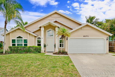 Jupiter Single Family Home Contingent: 6171 Mullin Street