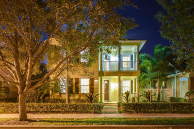 Jupiter Single Family Home For Sale: 126 Castries Drive