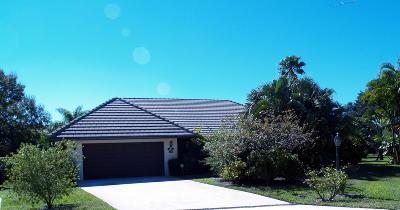 Palm Beach Gardens Single Family Home For Sale: 2241 Quail Ridge S