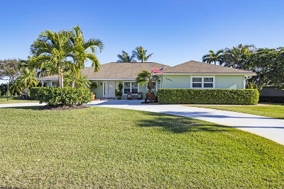 Hobe Sound Single Family Home For Sale: 6924 SE Bunker Hill Drive