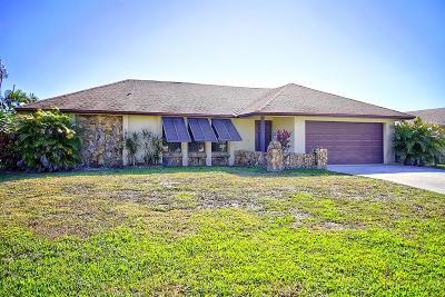 Palm Beach Gardens Single Family Home For Sale: 4098 Chestnut Avenue
