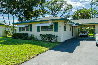 Delray Beach Single Family Home For Sale: 231 Cardinal Lane
