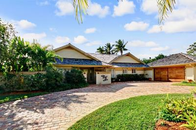 Hobe Sound Single Family Home For Sale: 8909 SE Marina Bay Drive