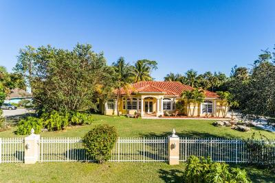 West Palm Beach Single Family Home For Sale: 1077 Rosetta Trail