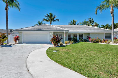 Palm Beach Gardens Single Family Home For Sale: 11895 Hemlock Street