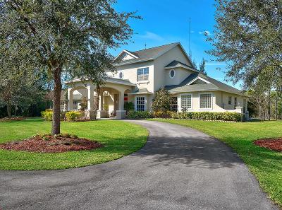 Lake Worth Single Family Home For Sale: 6765 Audubon Trail
