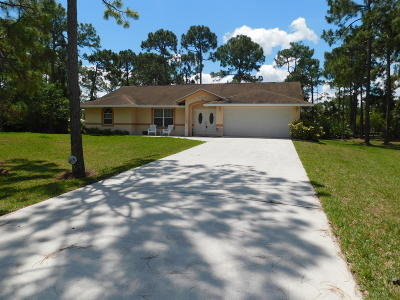 West Palm Beach Single Family Home For Sale: 13716 74th Street