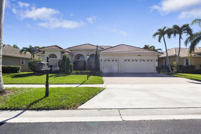 Boca Raton Single Family Home For Sale: 12396 Rockledge Circle