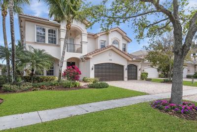 Boynton Beach Single Family Home Contingent: 11168 Brandywine Lake Way