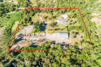 Loxahatchee Single Family Home For Sale: 4866 200th Trail