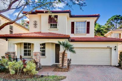 Palm Beach Gardens Single Family Home For Sale: 433 Pumpkin Drive