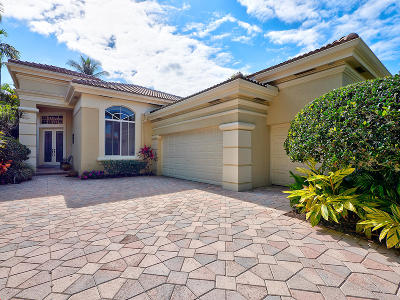 Palm Beach Gardens Single Family Home Contingent: 126 Isle Drive