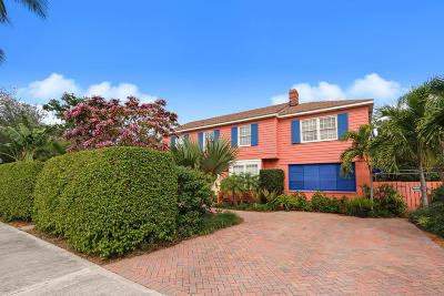 West Palm Beach Single Family Home For Sale: 243 Pershing Way
