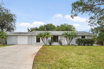 Port Saint Lucie Single Family Home Contingent: 181 NW Heather Street