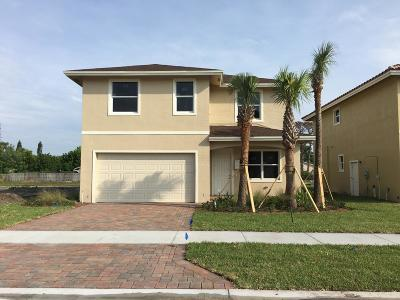 Greenacres Single Family Home For Sale: 3920 La Rambla