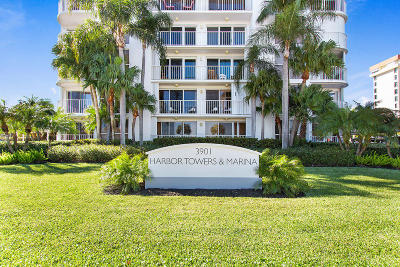West Palm Beach Condo For Sale: 3901 S Flagler Drive #701