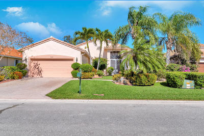 Boynton Beach Single Family Home For Sale: 9136 Taverna Way