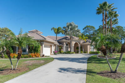 Martin County Single Family Home For Sale: 958 SW Imperial Drive