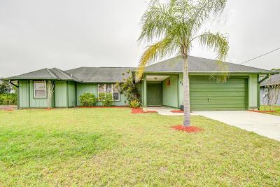 Port Saint Lucie Single Family Home For Sale: 4342 SW Lagrange Street