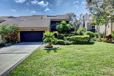 Boca Raton Townhouse For Sale: 756 Saint Albans Drive