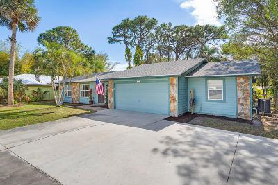 Jupiter Single Family Home Contingent: 420 Hugh Street