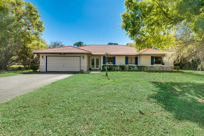 Boynton Beach Single Family Home For Sale: 9296 Talway Circle