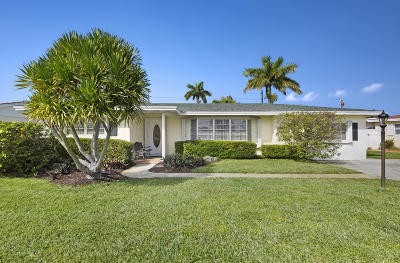 West Palm Beach Single Family Home For Sale: 2335 Edgewater Drive