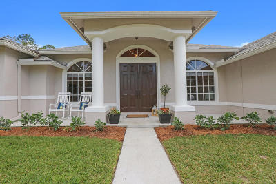 Jupiter Single Family Home Contingent: 11610 167th Place