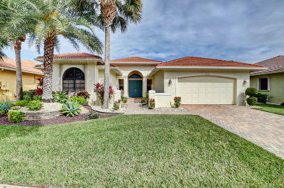 Delray Beach Single Family Home For Sale: 9170 Isles Cay Drive