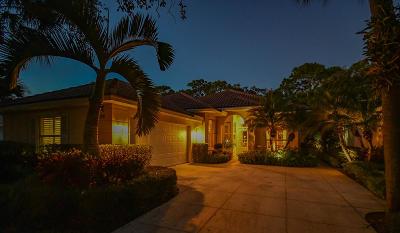 Palm Beach Gardens Single Family Home For Sale: 185 E Tall Oaks Circle