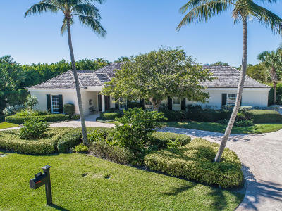 North Palm Beach Single Family Home For Sale: 11427 Turtle Beach Road