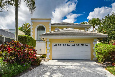 Boca Raton Single Family Home For Sale: 23501 Butterfly Palm Court