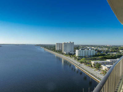 West Palm Beach Rental For Rent: 1200 S Flagler Drive #1803