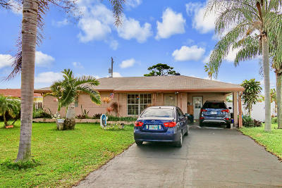Jupiter Single Family Home For Sale: 1425 Summer Avenue